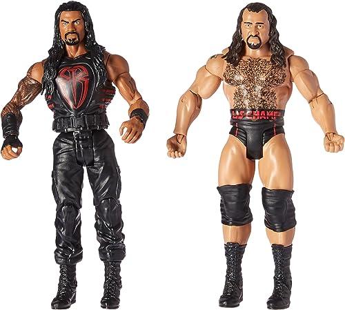 todos los bienes son especiales WWE Roman Reigns & Rusev Mattel Battle Pack Series Series Series 47  estilo clásico