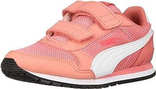 PUMA Unisex ST Runner V2 MESH Kids Sneaker Velcro Closure