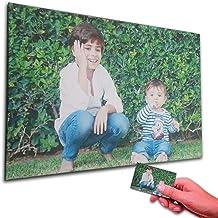 Oops ORIGINALOOPS.ES Cuadro Personalizado con tu Foto. Impresión en Foto Lienzo sobre Bastidor de 35mm (90x60)