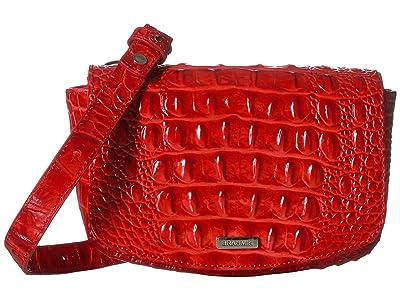 Brahmin Melbourne Lil (Candy Apple) Handbags