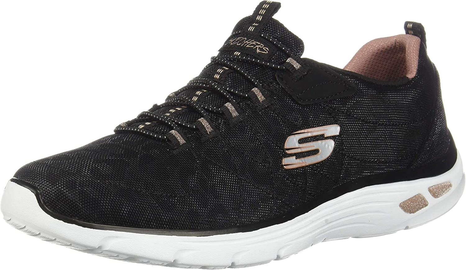 Skechers Womens Empire D'Lux-Spotted Sneakers