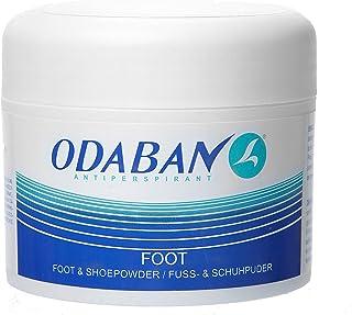 Odaban Antiperspirant Fuß- und Schuhpuder, Entfernt Effektiv Gerüche, 50 gram