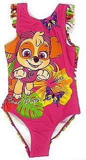 Paw-Patrol, Bañador para niña Rosa 3 98 cm/3 años