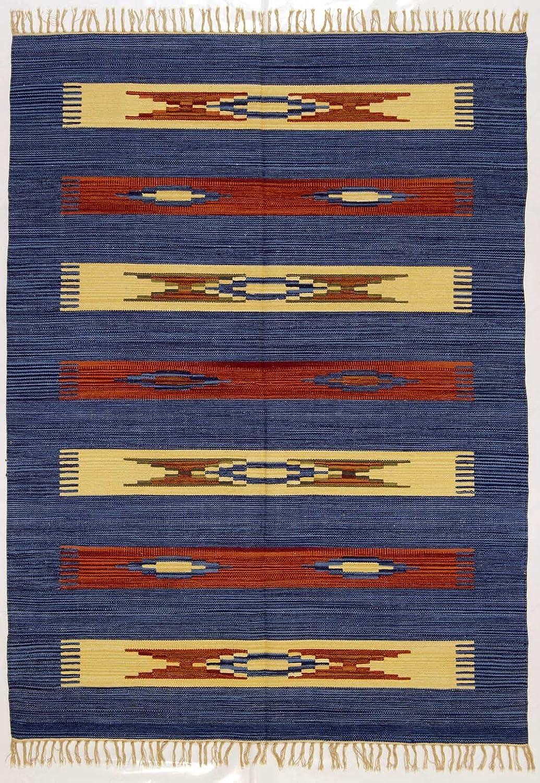 180x120 CM Original, Autentic Kilim fait main Coton Indian  GalleriaFarah1970