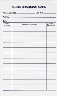 Schule smart 1485891 DurchBlautung aufgrund Rueckgabe Datum Karten Record Book, 7,6 x 12,7 cm weiß (500 Stück) B0042SYUPC  Verkaufspreis