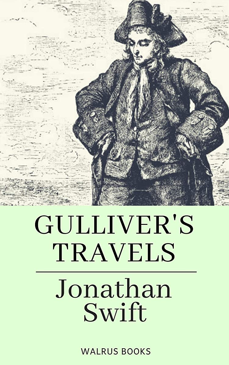 海藻バイオレット偽Gulliver's Travels (Illustrated) (English Edition)