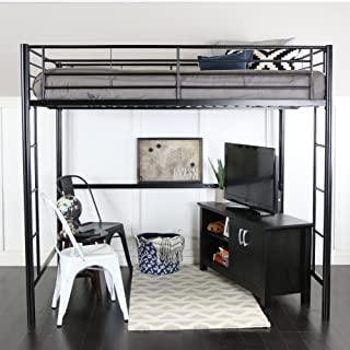 Best double size loft bed with desk Reviews