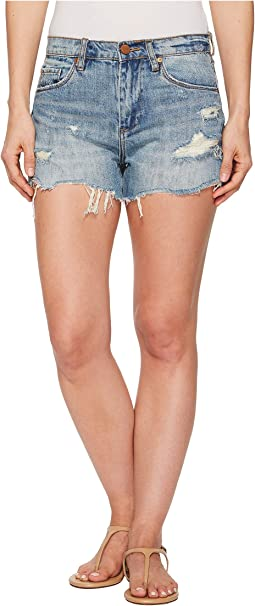 Blank NYC - Hi Rise Cut Off Shorts in Panic Prevention