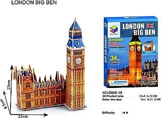 Deal Noon Big Ben 34pcs Souvenir Gift 3D Puzzle for Kid World | Famous Landmark Architecture Building Puzzles | Model Kits...