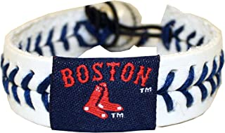 MLB Boston Red Sox - Boston and Sox Logo Authentic Baseball Bracelet