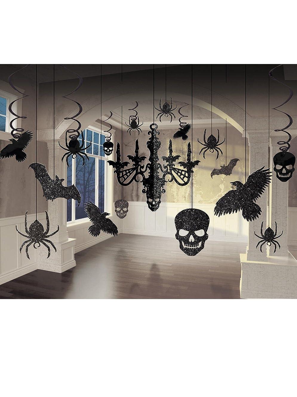 Shocktails Gothic Glitter Room Decorating Kit