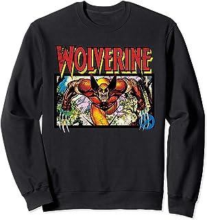 Marvel X-Men Retro Wolverine 90s Sweatshirt