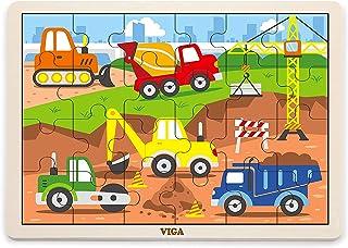 24 pcs Puzzle - Construction