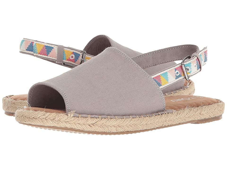 TOMS Clara (Drizzle Grey Hemp/Multi Tribal) Women