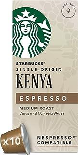 Starbucks 星巴克 肯尼亚浓缩咖啡胶囊 兼容Nespresso咖啡机 (12盒,共120 粒胶囊)
