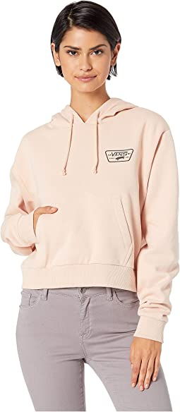Full Patch Crop Hoodie