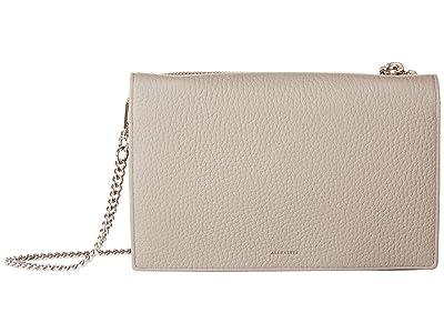 AllSaints Fetch Chain Wallet (Storm Grey) Wallet Handbags