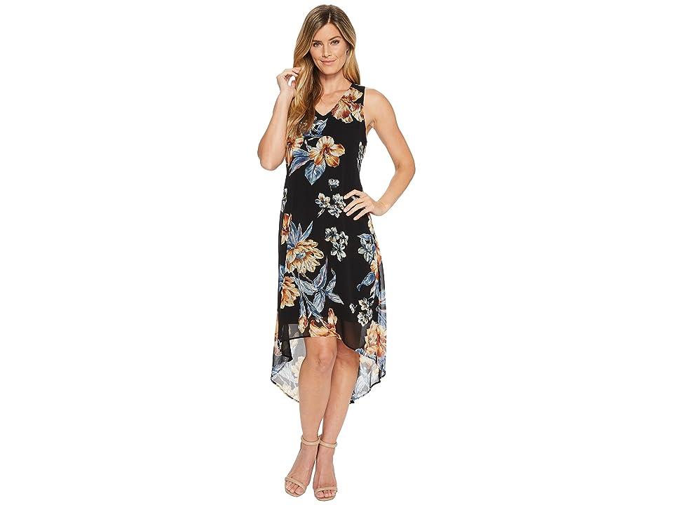 Karen Kane High-Low Hem Dress (Print) Women
