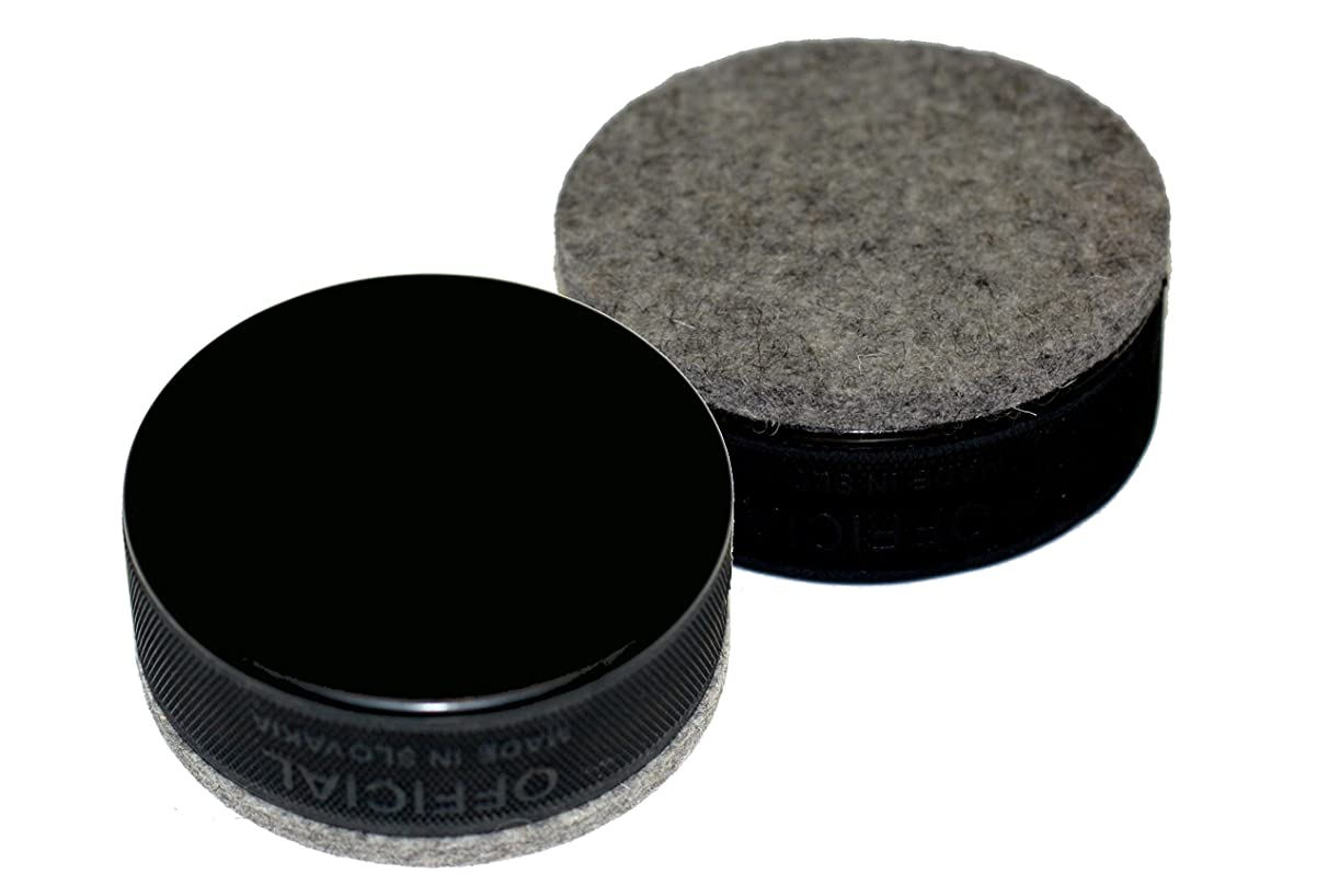 EBINGERS PLACE Black Hockey Puck Board Eraser for Chalk Boards and Whiteboards