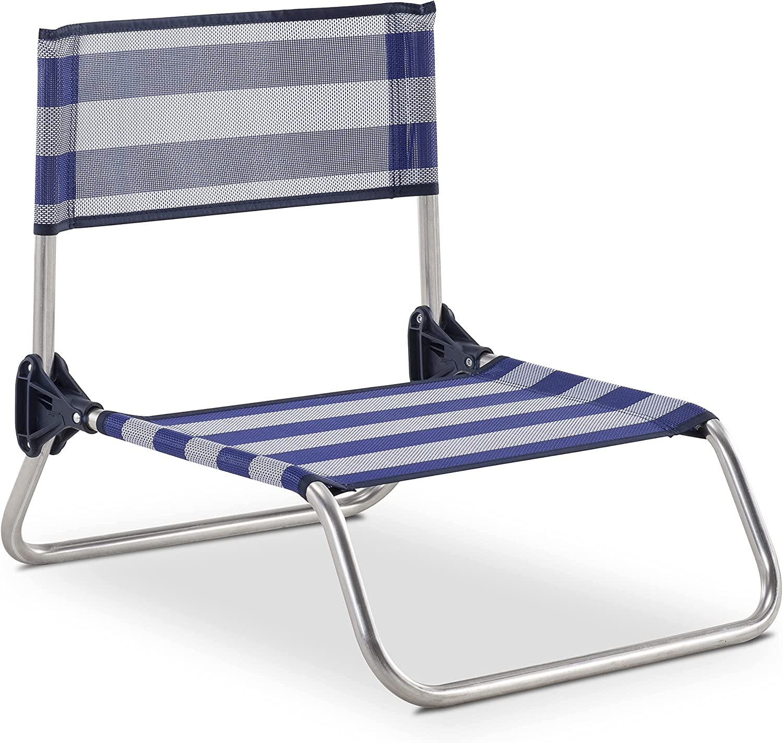 Eredu 833/TX Silla, Rayas Azul/Blanco