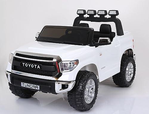 gran descuento Toyota Tundra, blanco, blanco, blanco, producto BAJO LICENCIA, con mando a distancia 2.4Ghz , apertura de puertas, os asientos en cuero, Ruedas EVA Suave  presentando toda la última moda de la calle