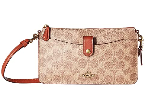 Coach signature coated canvas pop up messenger at zappos.com