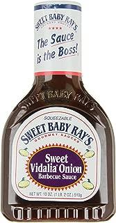 Sweet Baby Ray's Gourmet Barbecue Sauce Sweet Vidalia Onion - 18 oz