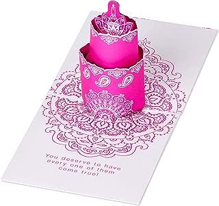 American Greetings Pop Up Musical Birthday Card (Cake)