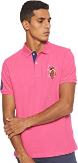 U.S. POLO ASSN. Men's Slim Fit Cotton Pique Polo Shirt