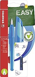 Handwriting Pen - STABILO EASYbuddy A nib Dark Blue/ Light Blue