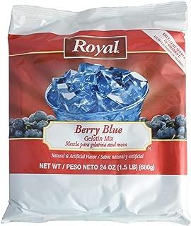 Royal Gelatin, 24 Ounce (berry blue, 6-pack)