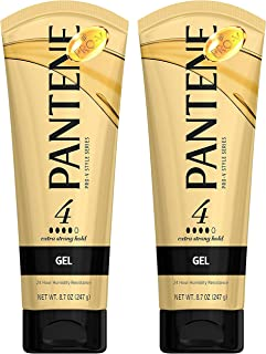 Pantene Pro-V Style Series Gel Extra Strong Hold - 8.7 oz, Pack of 2