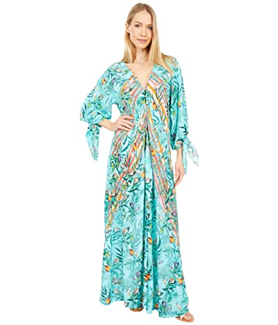 Johnny Was Taina Panelled Maxi Cover-Up (Multi) Women