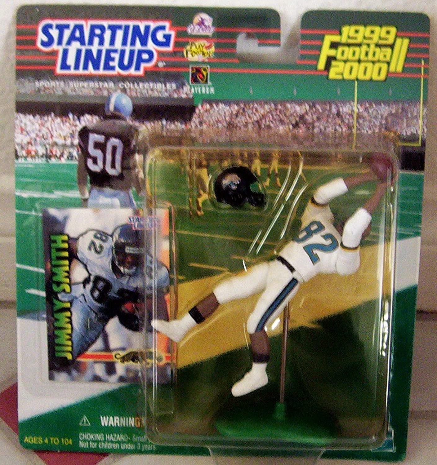 1999 NFL Starting Lineup Jimmy Smith  Jacksonville Jaguars