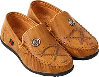 Tiny Bugs Boys Attractive Slip ON Loafers for (3 Years to 7 Years) Kids.