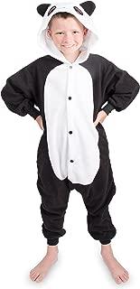 Emolly Fashion Kids Animal Panda Pajama Onesie - Soft and Comfortable with Pockets