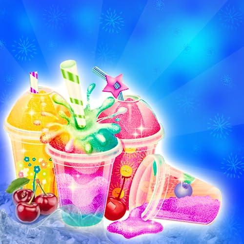 Slush Maker & Decoration - Kids Ice Dessert Game Free