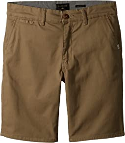 Quiksilver Kids New Everyday Union Stretch Shorts (Big Kids)