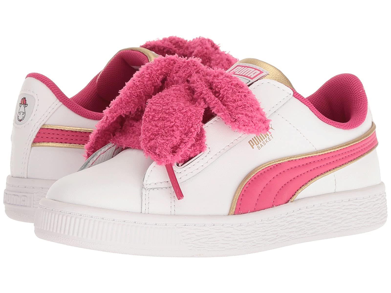 Puma Kids Minions Basket Heart Fluffy PS (Little Kid/Big Kid)Atmospheric grades have affordable shoes