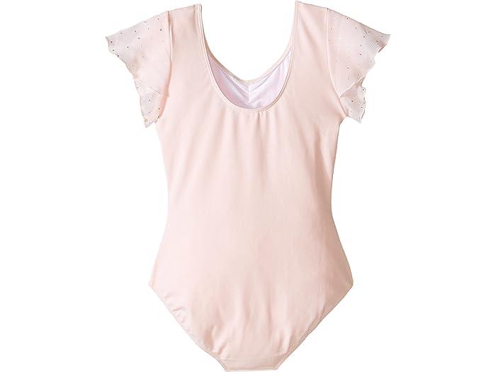 Toddler//Little Kids//Big Kids Bloch Kids Baby Girls Flutter Sleeve Leotard with Sequin Dot