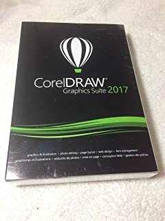 CorelDRAW Graphics Suite 2017 - English, French - Box Pack