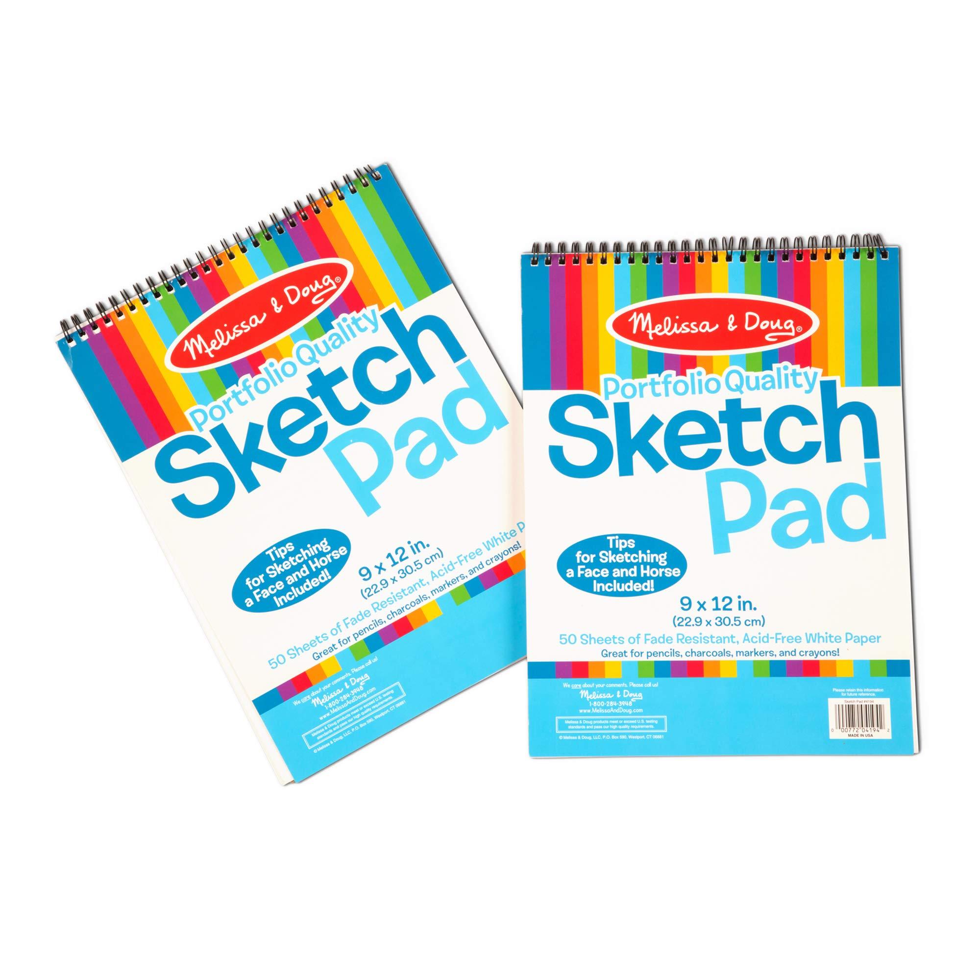 Melissa Doug Sketch Fade Resistant Acid Free