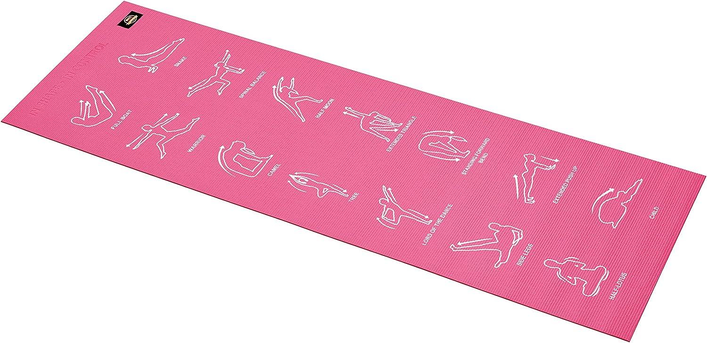 Body お得クーポン発行中 Sculpture BB8300G5 Instructional Mat Exercise Yoga 人気 おすすめ Illust