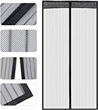 Store2508® Polyester Mesh Mosquito Screen Curtain with Magnets for Main Doors/Balcony Doors/Kitchen Doors (100 * 210 Cms)