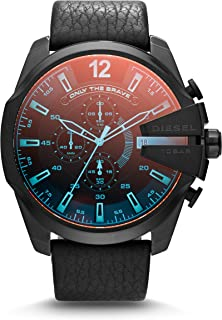 Diesel Mega Chief, Men's Chronograph Watch, DZ4323 - Black