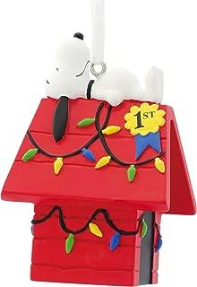 Hallmark Peanuts Snoopy on Doghouse Christmas Ornaments, Snoopy Dog House, Snoopy Dog House