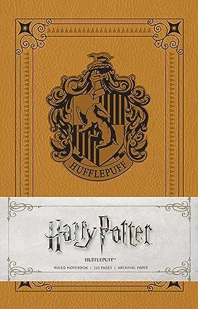 Harry Potter - Hufflepuff Ruled Notebook