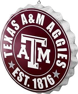 NCAA Bottlecap Wall Sign (Renewed)