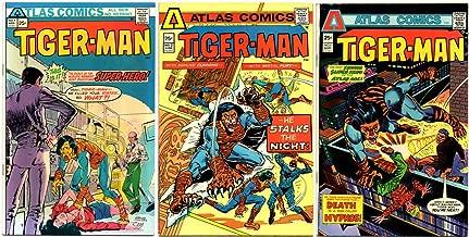Tiger-Man #1-3 Complete Series (Atlas Comics 1975 - 3 Comics)
