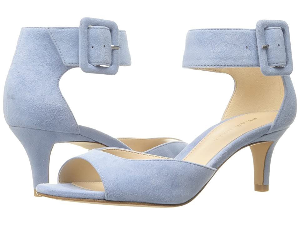 Pelle Moda Berlin (Powder Blue Suede) High Heels